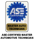 ASE-Certified Master Automotive Technician